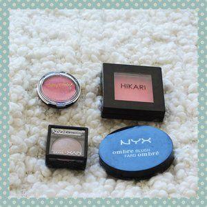 Blush/Eyeshadow Bundle (NYX, Hikari, Dolly Wink)
